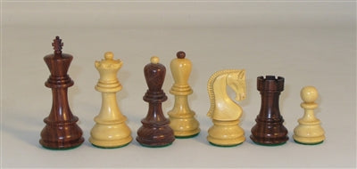 Chessmen-Rosewood-Old Russian-Opposite Tops
