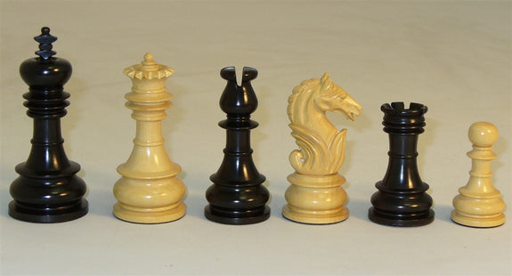 Chessmen-Boxwood-Black Lotus
