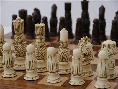 Chessmen-4 inch King-Victorian