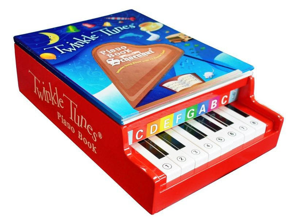Twinkle Tunes Piano Book for Ages 3 and Up by Schoenhut - Seasonal Expressions