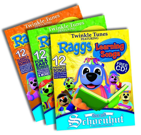 Raggs Book Set Companion Pieces for Raggs Twinkle Tunes Piano Book - Seasonal Expressions