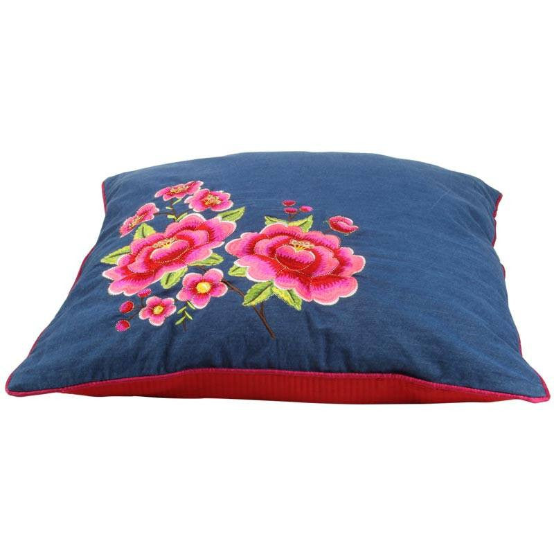 "Multi Flower, 20"" x 20"" Pillow Cover from Heritage Lace - Seasonal Expressions - 3"