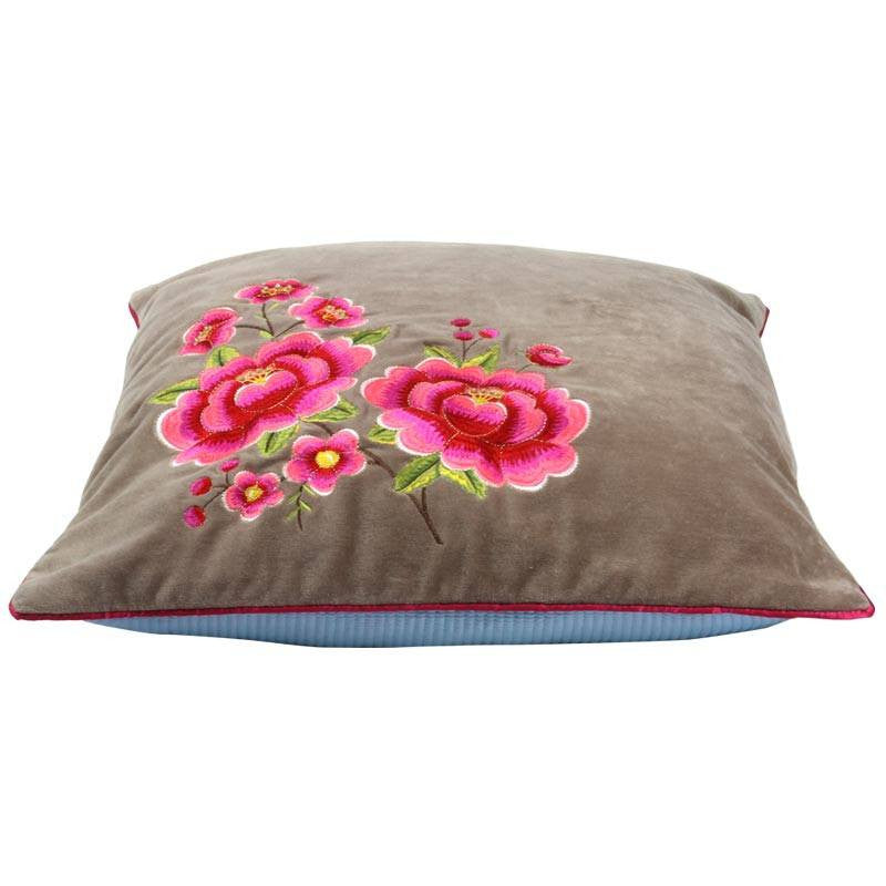 "Multi Flower, 20"" x 20"" Pillow Cover from Heritage Lace - Seasonal Expressions - 2"