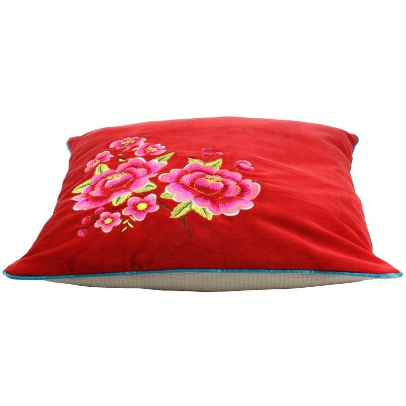 "Multi Flower, 20"" x 20"" Pillow Cover from Heritage Lace - Seasonal Expressions - 1"