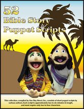 Puppet Ministry-52-Bible Story-Scripts