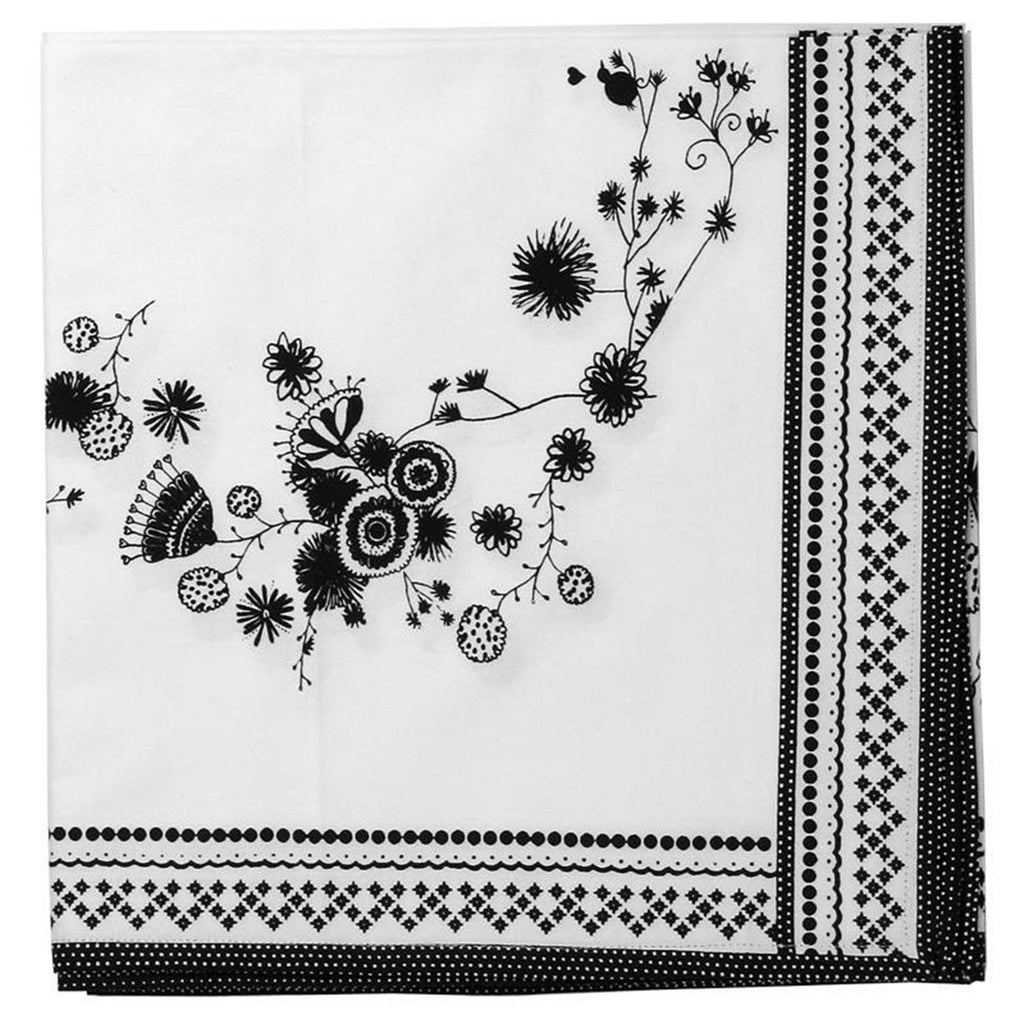 "Flower Table Runner 24 x 72"" by Miss Blackbirdy from Heritage Lace - Seasonal Expressions"