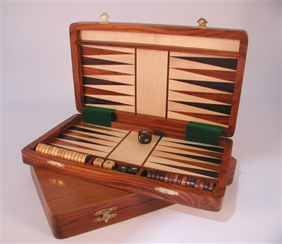 Backgammon-Wood-Magnetic
