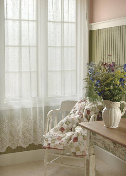 """Floret"" Panels,  Set of 2 Curtains from Heritage Lace - Seasonal Expressions - 1"