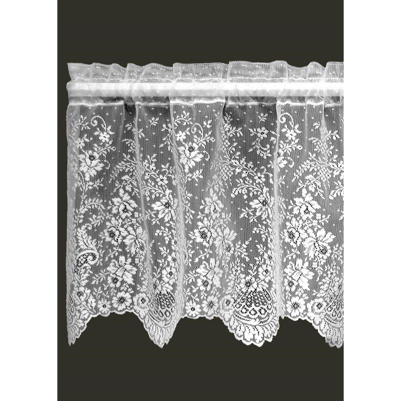 """Floret"", 2 Valances from Heritage Lace - Seasonal Expressions - 1"