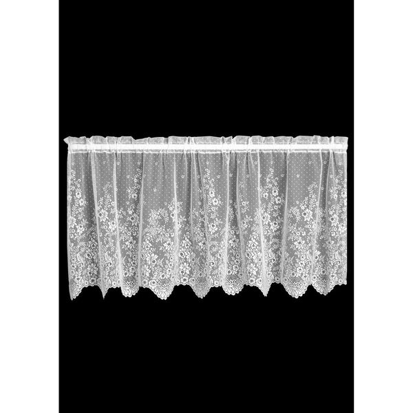 """Floret"" Tier Curtains, 2 Pairs of Beautiful Window Coverings from Heritage Lace - Seasonal Expressions - 1"