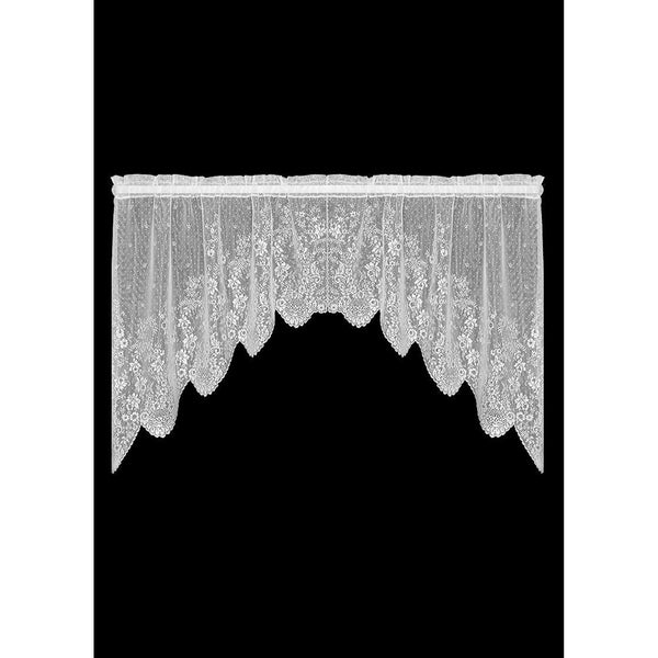 """Floret"" 2 Pairs Swag, Curtains from Heritage Lace - Seasonal Expressions - 2"