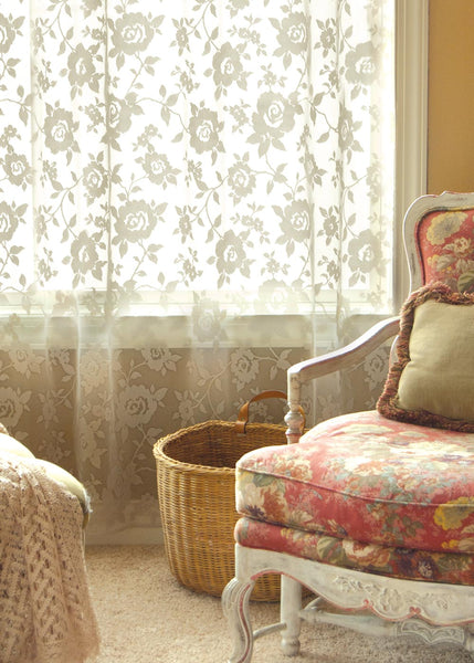 Curtain Panel-Heritage Lace-Ashby Rose