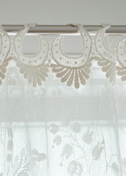 Coventry Panel with Rings, Set of 2  Beautiful Window Coverings from Heritage Lace - Seasonal Expressions - 1