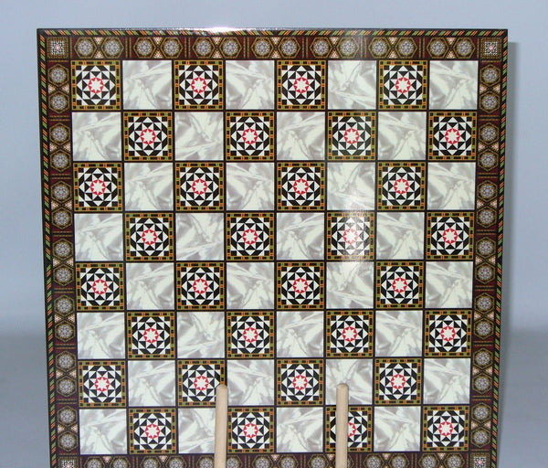 Mosaic Design Decoupage Chessboard - Seasonal Expressions