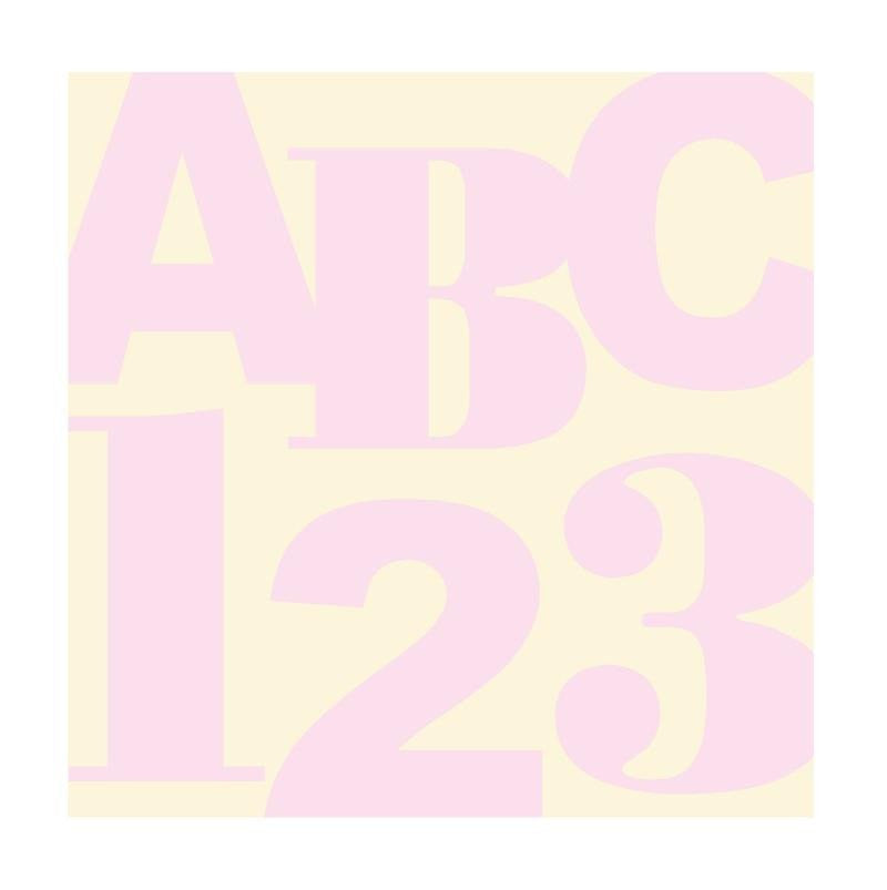 ABC 123 Squared DIY Paint by Number Wall Mural by Elephants on the Wall - Seasonal Expressions