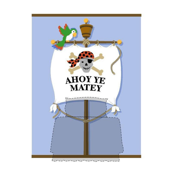 Ahoy Ye Matey DIY Paint by Number Wall Mural Bedhugger by Elephants on the Wall - Seasonal Expressions - 1