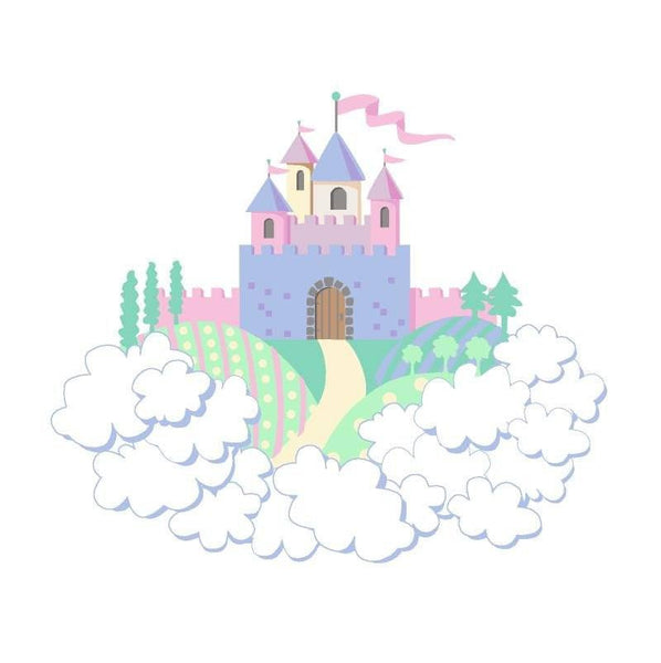 Princess Castle DIY Paint by Number by Elephants on the Wall - Seasonal Expressions - 1