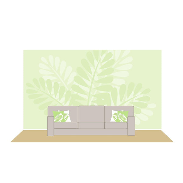 Mega Ferns DIY Paint by Number Wall Mural by Elephants on the Wall - Seasonal Expressions - 1