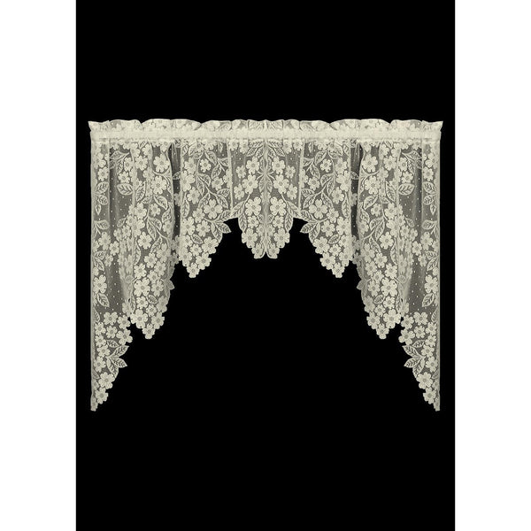 Curtains-Swag-Pair-70 x 38-Heritage Lace-Dogwood