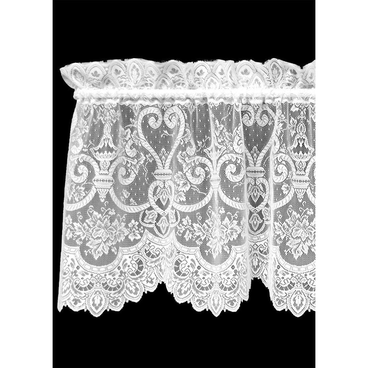 Set of 2 English Ivy Valance Curtains from Heritage Lace - Seasonal Expressions - 1