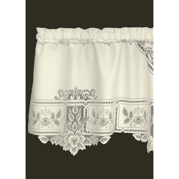 "Set of 2 Heirloom Valances 60"" x 22"" from Heritage Lace - Seasonal Expressions - 1"