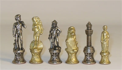 Chessmen-Metal-Florence