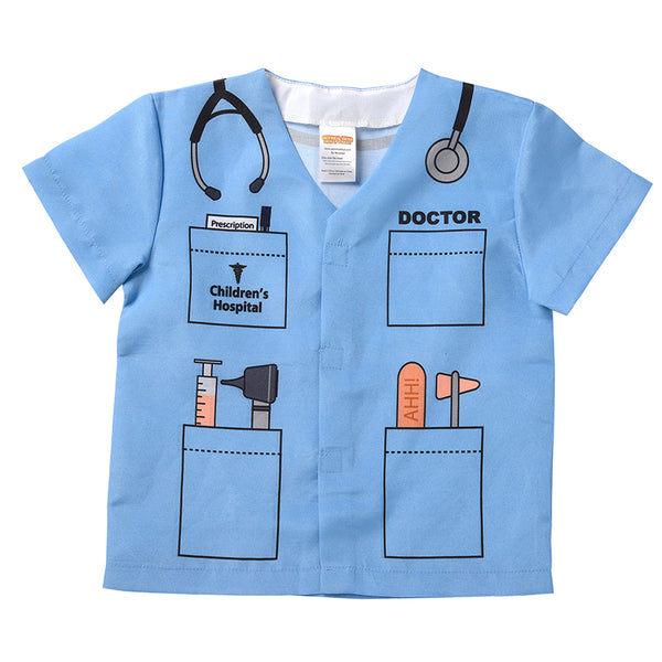 Let's Pretend-My First Career-Blue Doctor Top-Ages 1-3