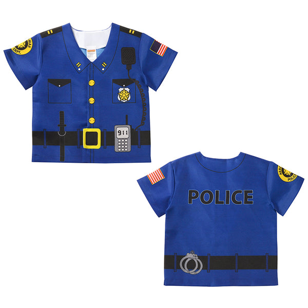 Let's Pretend-My First Career-Police Gear Top-Ages 1-3