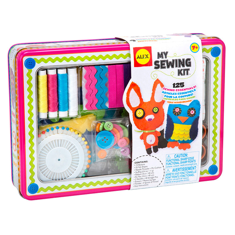 Arts and Crafts-My Sewing Kit-Creative Children