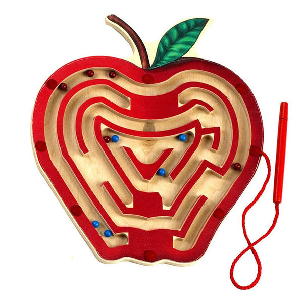Magnetic Apple Maze - Seasonal Expressions