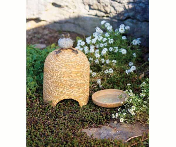 River Stone Toad House in Yellow - Expressions of Home