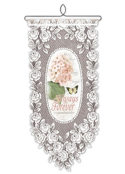 Wall Hanging-Always and Forever-Grandmother-Heritage Lace