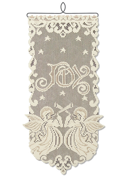 Wall Hanging-Seasonal-Christmas-Angel-Joy-Heritage Lace
