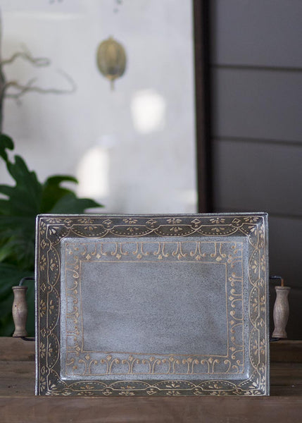 Serving Tray-Heritage Lace-Artisan Home