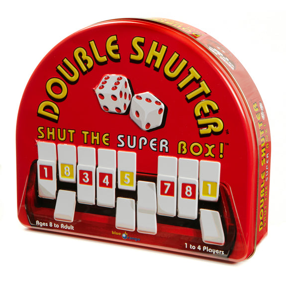 Math Fun-Educational-Double Shutter Family Game-Ages 8 Plus