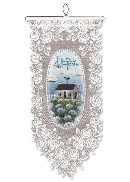Bless This Home Wallhanging from Heritage Lace - Expressions of Home