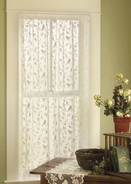 Curtain Panel-Heritage Lace-Bristol Garden