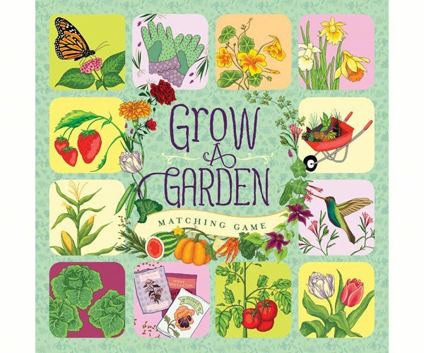 Grow a Garden Matching Game, Fun for the Whole Family - Expressions of Home