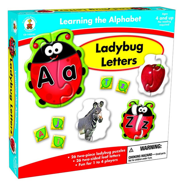 Ladybug Letters Learning Game for Ages 4-8