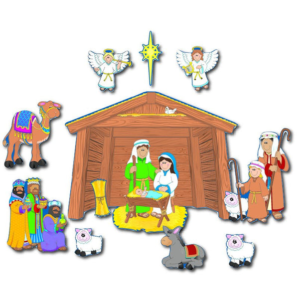 Bulletin Board Set, Nativity - Seasonal Expressions