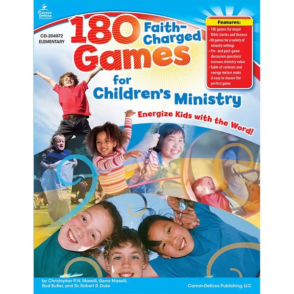 Children's Ministry-180 Faith-Charged-Games