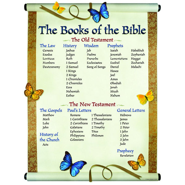 The Books of The Bible Chart - Seasonal Expressions