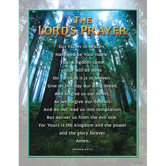 Christian Chart-The Lord's Prayer