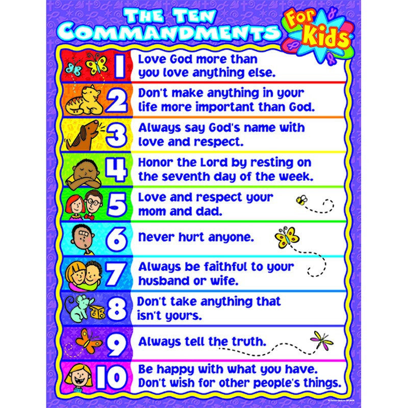 The Ten Commandments for Kids - Seasonal Expressions