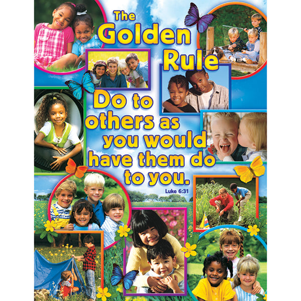 Bulletin Board Chart-Christian-The Golden Rule