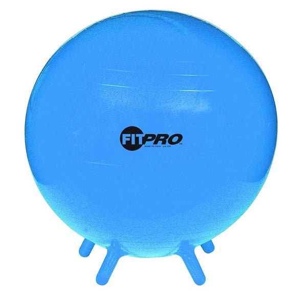 Fit Pro Ball Stability Legs Blue 55cm for Grade 3 and up - Seasonal Expressions