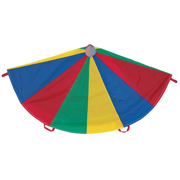 Parachute for Active Children, 6 ft. Diameter, 8 Handles - Seasonal Expressions