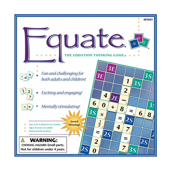 Math Fun-Educational Family Games-Equate-Math Board Game-8-Adult