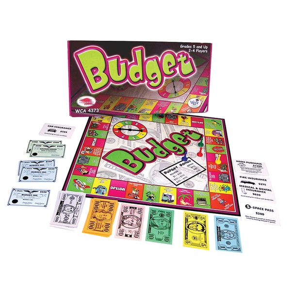 Educational-Family Game-Math-Budget