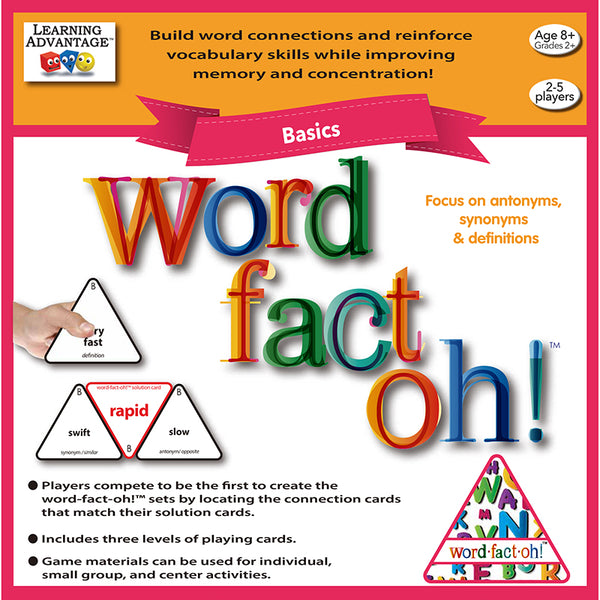 Educational Game-Word Fact Oh-Family Time